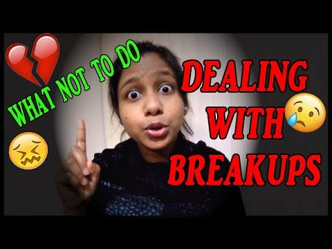 DEALING WITH BREAKUPS😢💔 | HEART BREAK STRESS RELIEF | MAKE BREAKUPS FUNNY | BY OFFICIAL JHALLI