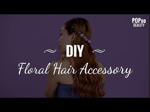 DIY Floral Hair Accessory - POPxo