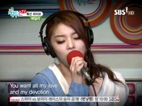 Ailee(에일리) One Night Only by Jennifer Hudson