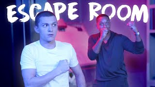 I took Tom Holland to an ESCAPE ROOM