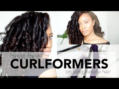 Heat Free Hair Styles| CURLFORMERS on Natural Hair