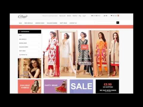 Designer Pakistani suits, Indian suits available from £15