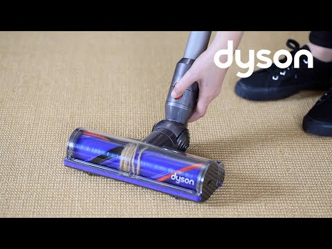 Dyson V8 cord-free vacuums - Resetting the Direct Drive cleaner head (UK)