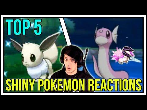 TOP 5 BEST SHINY POKEMON REACTIONS! BACK TO BACK SHINY POKEMON! Pokemon XY/ORAS