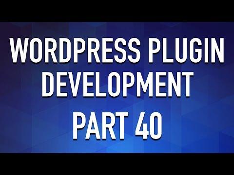 WordPress Plugin Development - Part 40 - Testimonial Manager PART 3