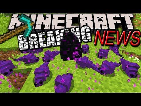 Minecraft 1.7.6 & 1.8 News: New Endermite Model, Friends List, Name Change, Skins, FOV, Realms