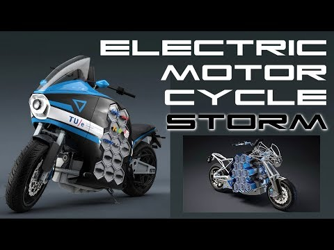 STORM Electric Motorcycle - Student Project - BTF