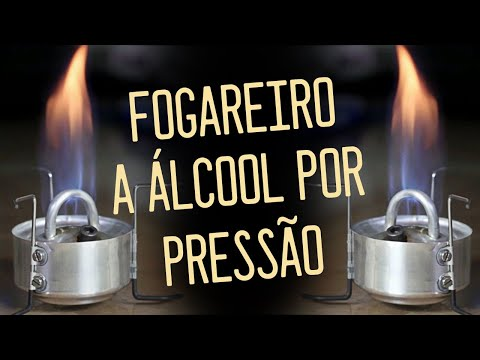 Pressure Alcohol Stove Homemade