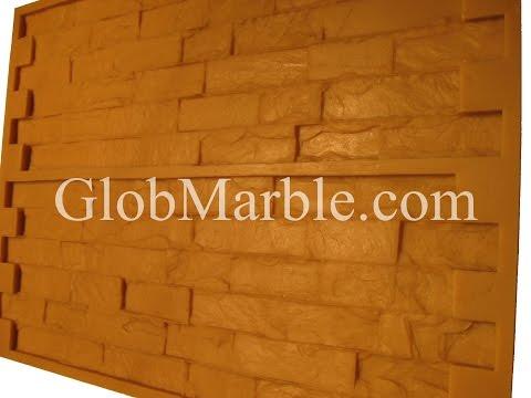 Making high strength concrete stone. GlobMarble mold VS 201