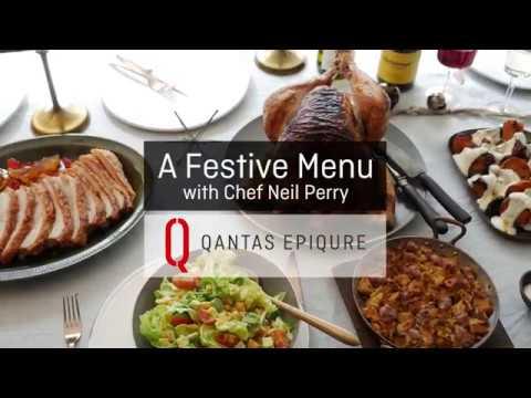 A festive menu with Chef Neil Perry