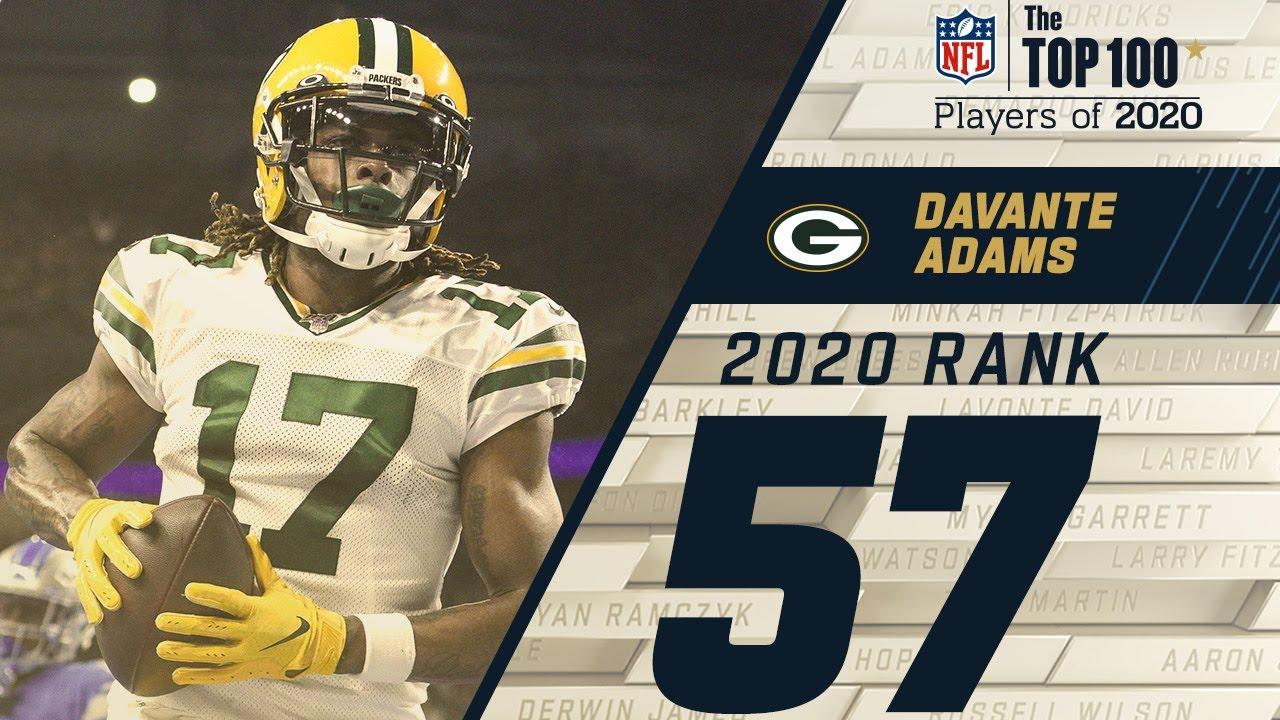 #57: Davante Adams (WR, Packers) | Top 100 NFL Players of 2020