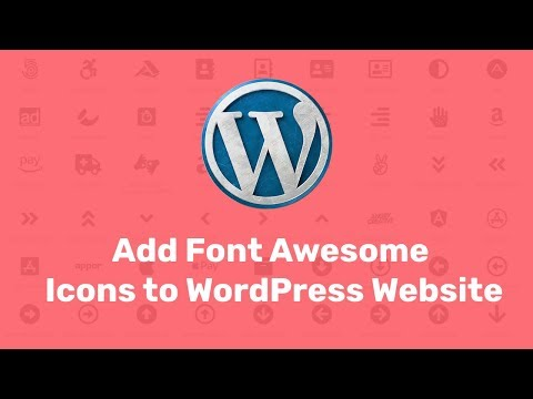 WordPress Font Awesome Icon Plugin – Add Font  Awesome Icons to WordPress Website using Plugin