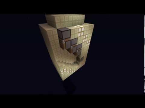 Minecraft [1.6.4] fast piston stairway elevator [compact]