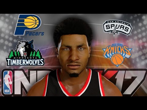 NBA 2K17 MyCAREER - SHAWN TRADED TO THE... NEW TEAM DEBUT!!!