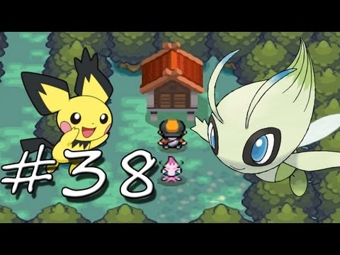 Pokemon SoulSilver - Part 38 - Celebi & Spiky Eared Pichu