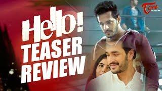 HELLO Teaser Review | Akhil Akkineni, Kalyani Priyadarshan | Vikram K Kumar