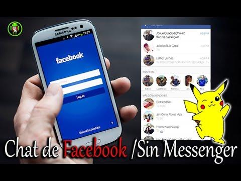 Utiliza Facebook Chat - Sin Messenger