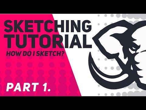 How do I sketch? | TUTORIAL | part 1 | Sketchbook pro | Shard