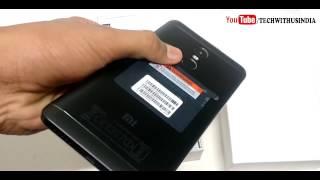 Redmi Note 4 Black 64 GB RAM Unboxing