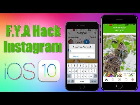 F.Y.A Hack Instagram Tweak Downloads Instagram Photos, Videos & More