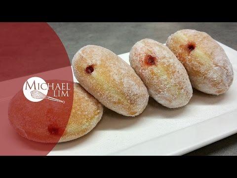 Strawberry Jam Donuts
