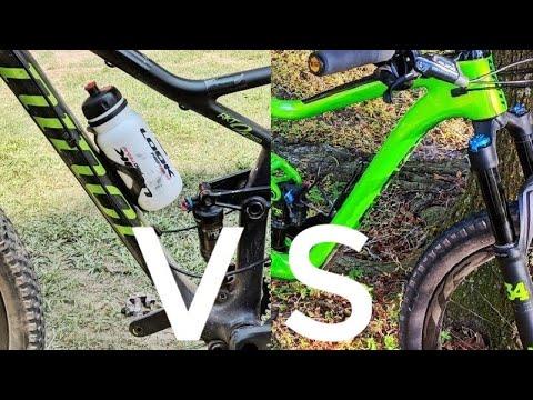 XC vs Mid-Travel 29 Trail Bike - Time Trial
