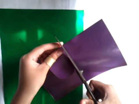 How to make a butterfly from tissue paper tube