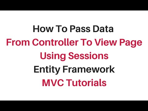 how to pass session data from controller to view mvc c#4.6