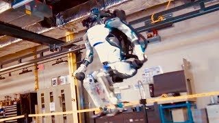 Real ROBOT Does Backflips  - Atlas by Boston Dynamics
