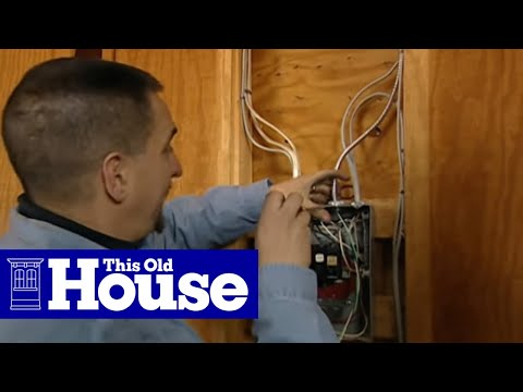 How to Connect a 220-Volt Receptacle to a 20-Amp Breaker - This Old House
