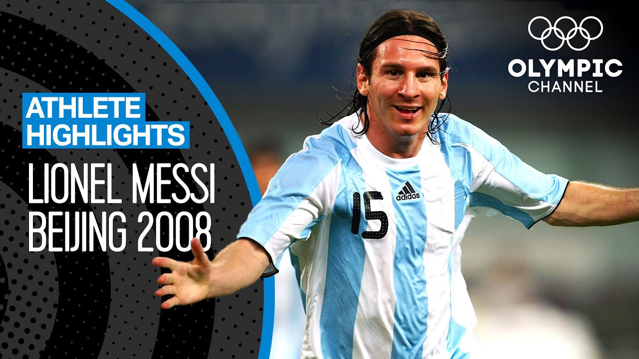 Lionel Messi 🇦🇷 at the Olympics!   Athlete Highlights