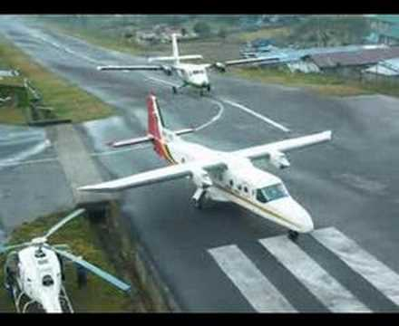 No. 1 Most Extreme and Dangerous Airport: Lukla Tenzing-Hillary Airport, Nepal 全球最危險機場