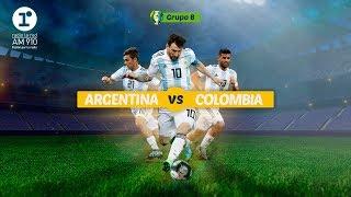 [EN VIVO] Argentina vs. Colombia - Copa América [ Radio La Red ]