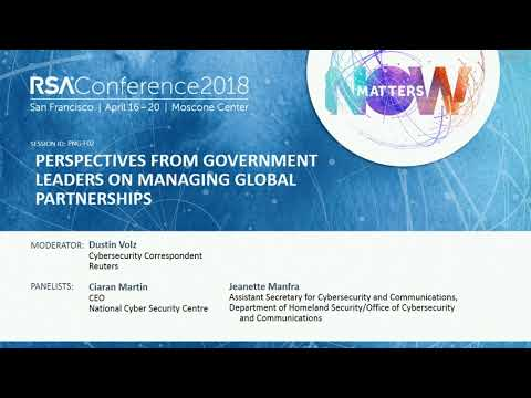 Perspectives from Government Leaders on Managing Global Partnerships