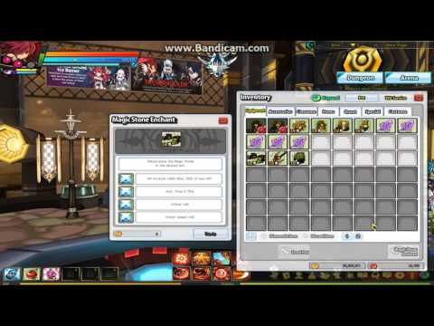 Elsword magic stone socketing secret dungeon set [ boots gloves weapon] problem