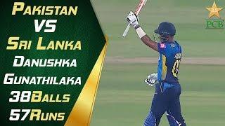 Danushka Gunathilaka | 38-Ball 57 Runs | Pakistan vs Sri Lanka 2019 | 1st T20 | PCB