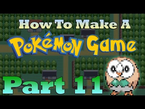 How To Make a Pokemon Game in RPG Maker - Part 11: Make A Pokemon