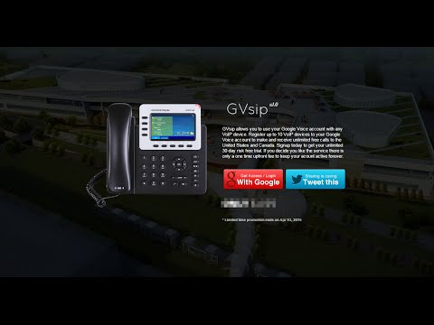 Google Voice to SIP Gateway | GVsip.com - Setup Tutorial