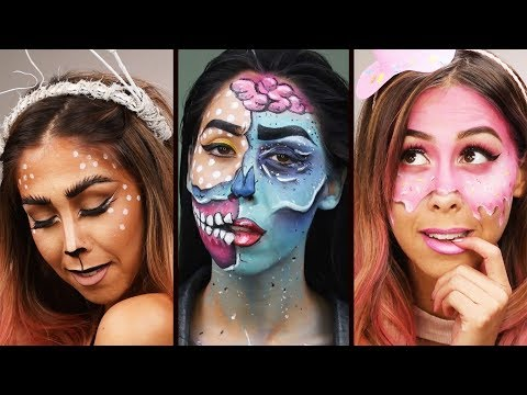 DIY Easy Halloween Makeup Tutorial Compilation 2017 | Get a Jump On Halloween With Clever Tutorials