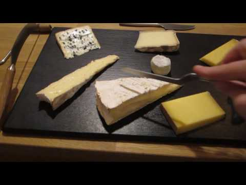 How to slice the cheese? exemple of a brie