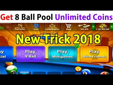 How To Get 8 Ball Pool Unlimited Coins 2018 No Root