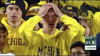 Michigan State Beats Michigan On Punter