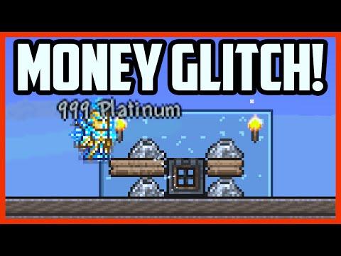Terraria MONEY GLITCH - SUPER FAST GOLD! Infinite Money Glitch in Terraria 1.3 [Terraria Cheats]
