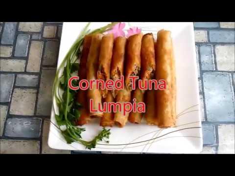 Corned Tuna Lumpia Tuna Spring Rolls
