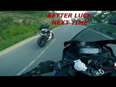 Yamaha R15 V3 Top Speed With Daytona Exhaust In India  Can