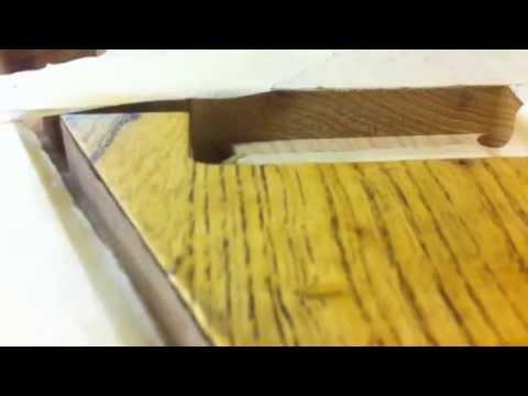 Swamp ash guitar body Tru oiled