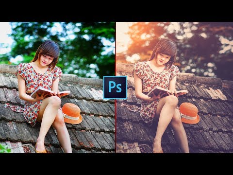 Soft light Vintage Look in Photoshop   Retro Effect   Photo Effects