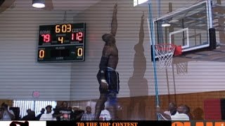 Highest Jumper in the World Doug Thomas Goes To The Top of the Backboard 13 Feet - Ballin