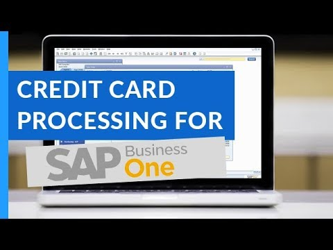 SAP Business One Credit Card Processing Solution