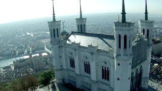 ACTUA DRONE et Basilique de Fourvière - Lyon, France